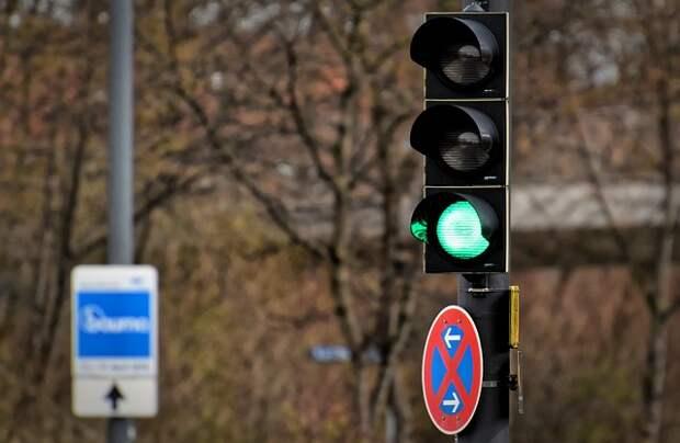 Регулируемый пешеходный переход обустроен возле станции БКЛ «Мневники»