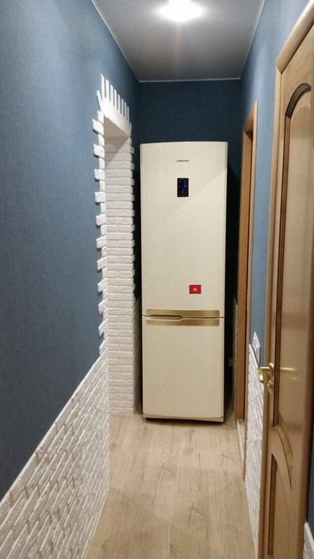 Где можно разместить холодильник если нет места на кухне