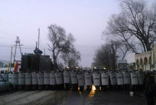 Для подавления беспорядков в Бурыл стянули внутренние войска