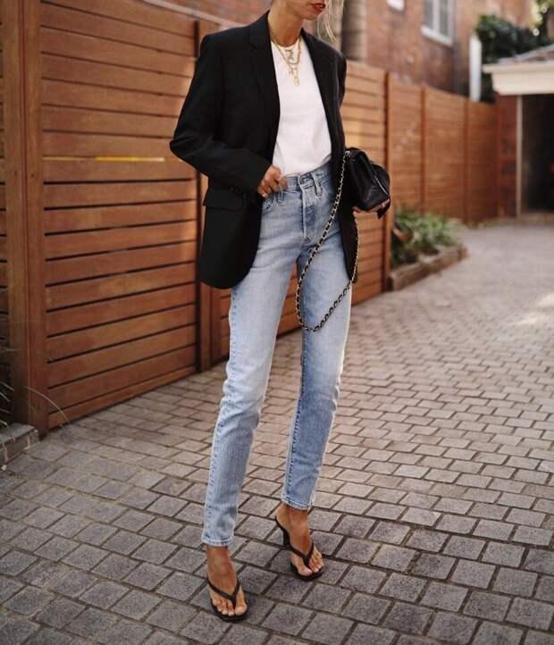 Модное вдохновение: Свежие образы с джинсами 2020
