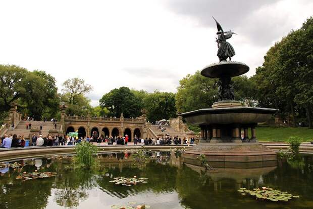 Виртуальная прогулка по Центральному парку Нью-Йорка