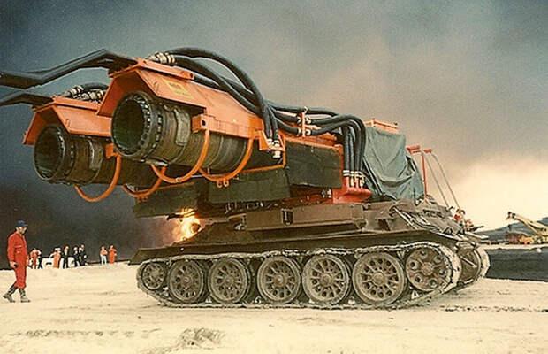 Гусеничная пожарная машина Big Wind
