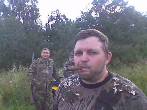 Губернатор Кировской области Никита Белых и его советник Алексей Навальный на охоте. Конец 00-х.