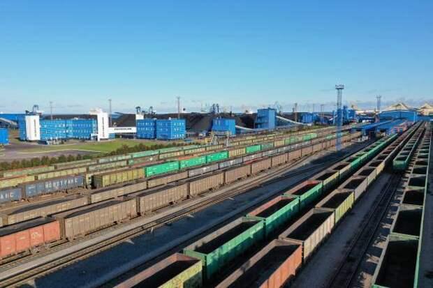 """В первом квартале 2021 года АО """"Ростерминалуголь""""  отгрузил на экспорт более 6 млн тонн угля"""