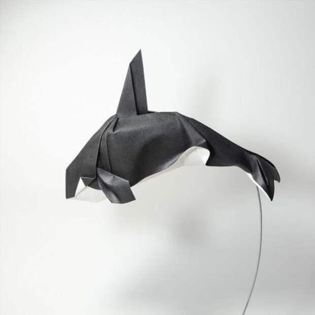 Впечатляющие оригами, созданные в технике мокрого складывания