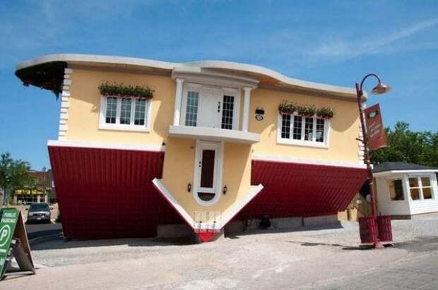 Перевернутый дом. Интересные факты о недвижимости
