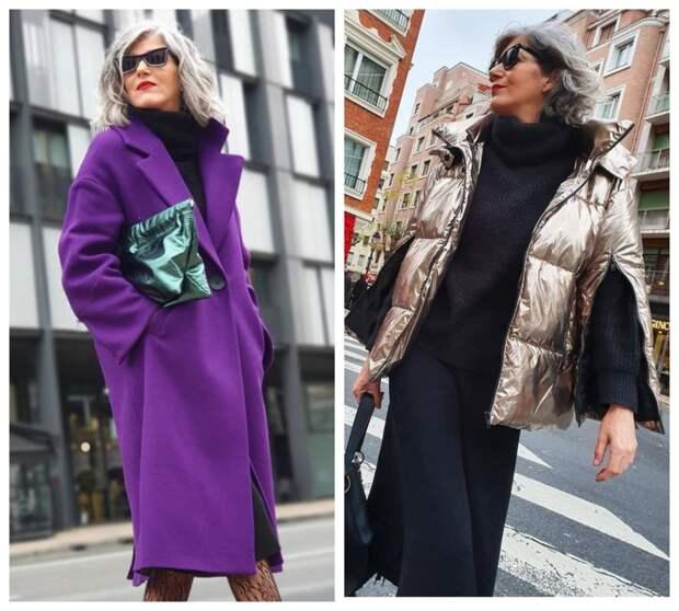Фото 1 и 2  пальто и куртка для весны.