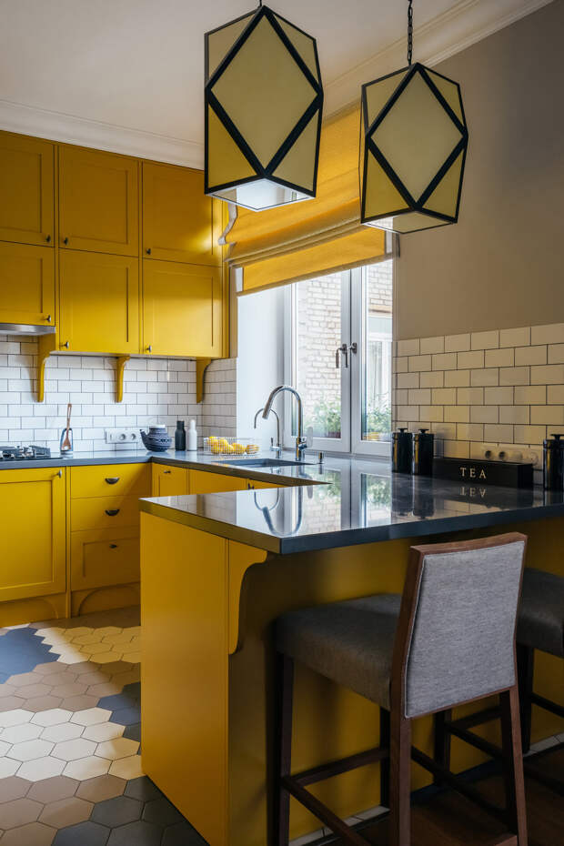 Как сделать кухню удобной и яркой