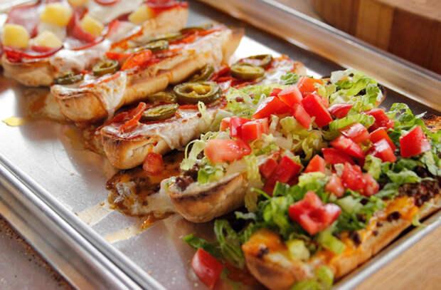 Пицца по-французски: делается за минуты