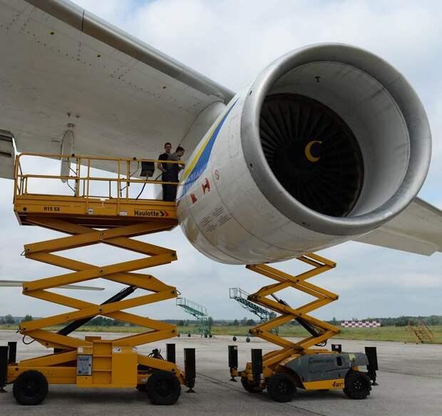 Украина сообщила пользователям Ан-124 о срочной необходимости ревизии двигателей