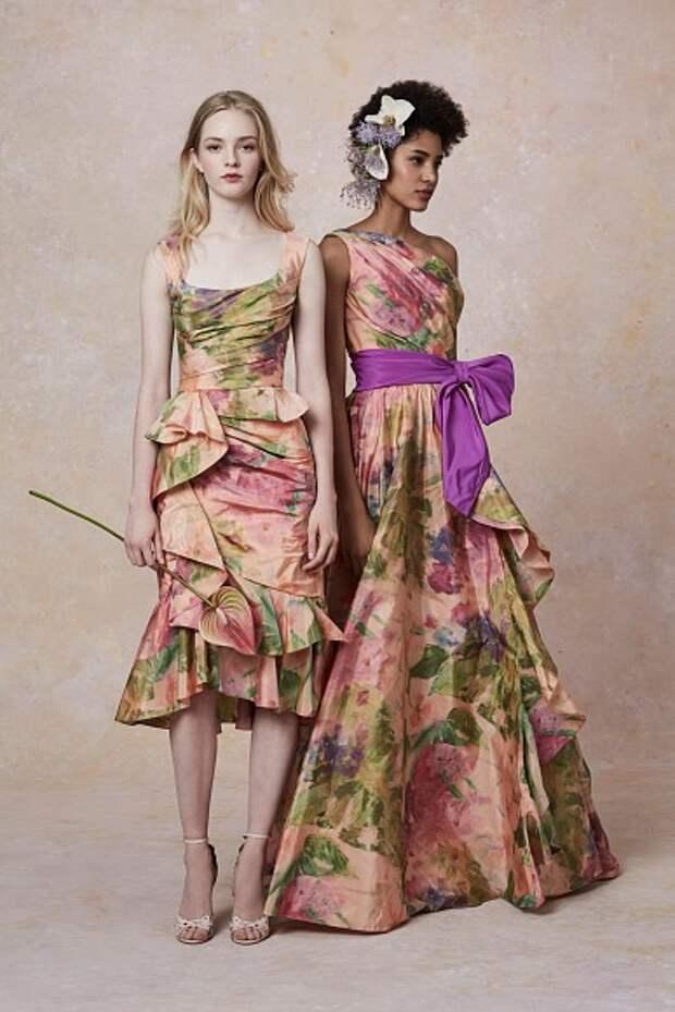 Цветочная нимфа: коллекция Resort 2019 отMarchesa