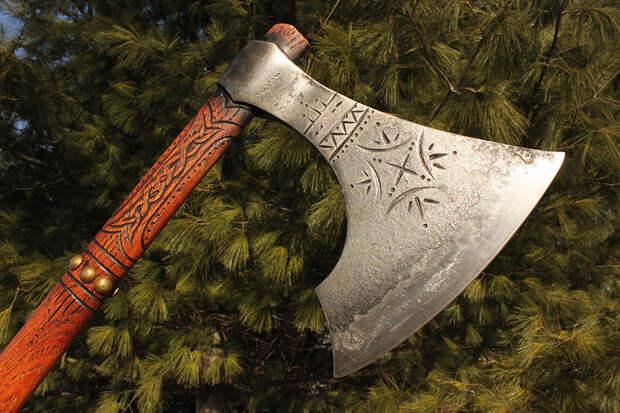 Боевая секира – смертельное оружие настоящих воинов