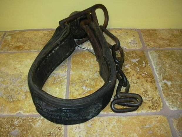 Еще один ошейник североамериканского раба, изготовленный в 1854 году (1)