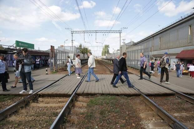 Власти СВАО примут меры к повышению безопасности на переходе возле Лианозовского рынка