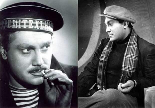Павел Луспекаев в спектаклях *Гибель эскадры* и *Иркутская история*, 1960 | Фото: kino-teatr.ru