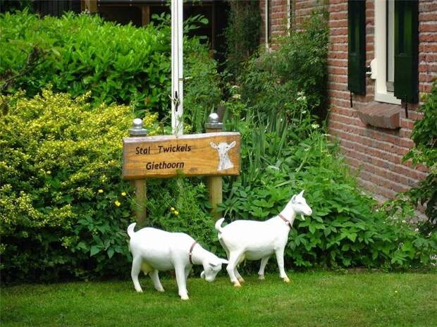 Giethoorn15 Гитхорн: деревня, где нет дорог