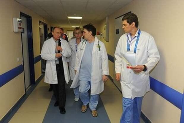 Путин объяснил небольшой размер бюджета на здравоохранение низкими налогами в России