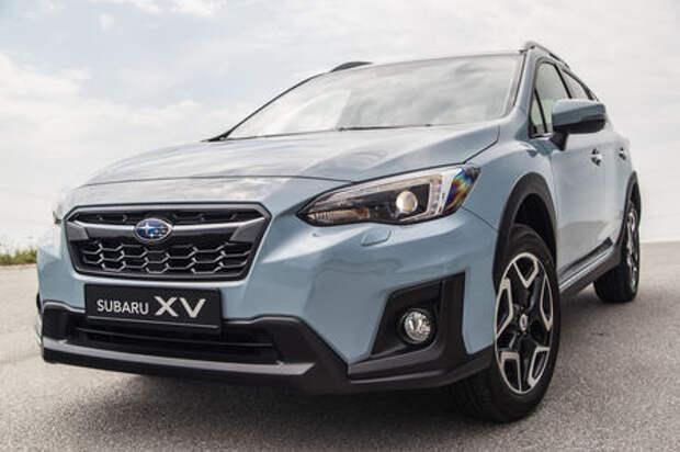 Продажи Subaru XV начнутся в октябре. Известны цены