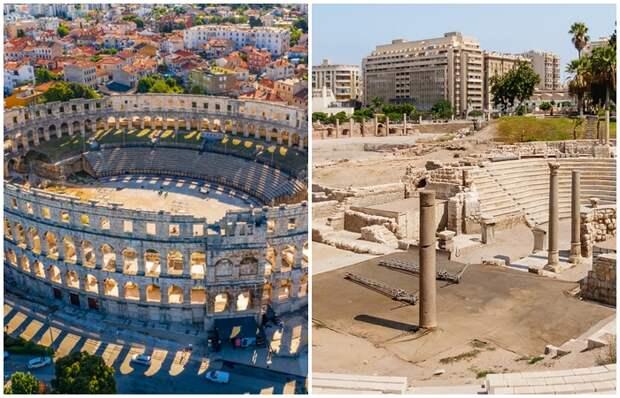 Какие тайны хранят 10 римских Колизеев, существующих за пределами Италии