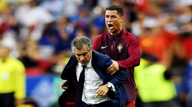 Сантуш: «Франция доставила Португалии много хлопот. Нас прижали, пытались отреагировать, но получалось робко»