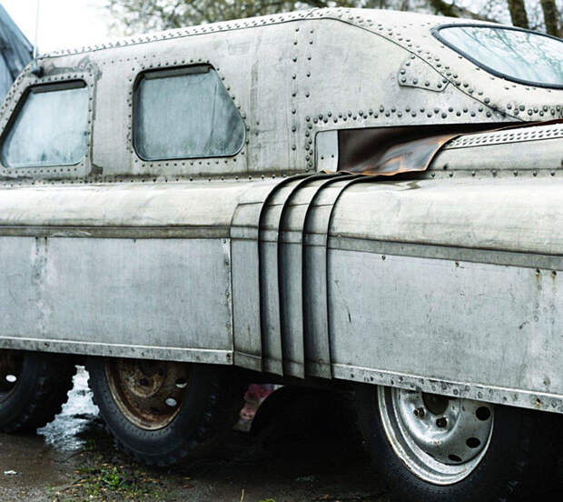 Уникальный советский вездеход-амфибию нашли в Челябинске (ФОТО)
