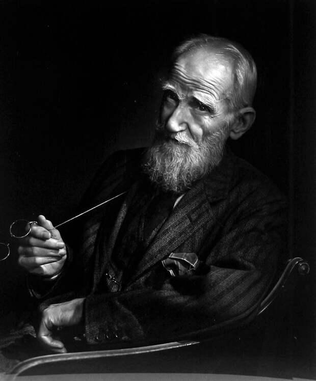 Bernard Shaw by Yousuf Karsh