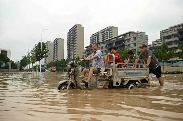 Июльские фото из Китая