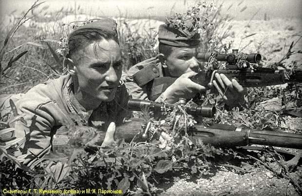 Советские снайперы Великой Отечественной войны, ч.7