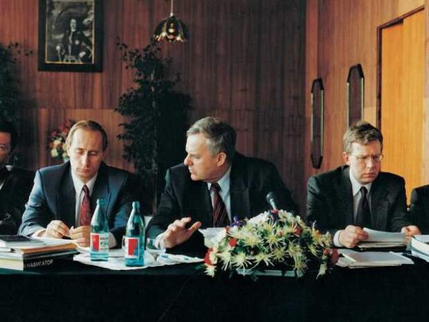 Лихие 90-е. Путин, Собчак, Кудрин