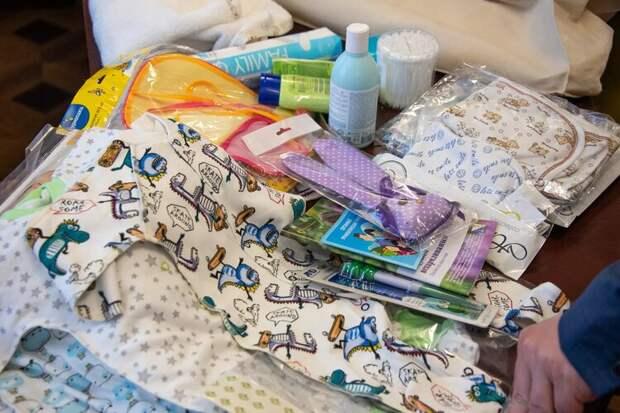 Севастопольских новорожденных обеспечат подарками