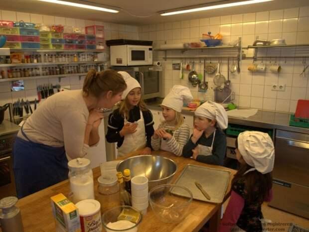 Pесторан, в котором работают только дети