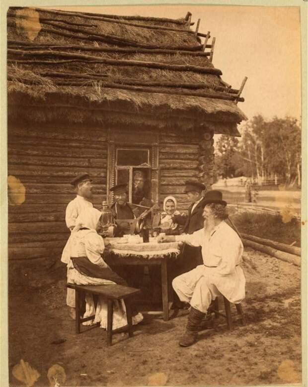 Вот так выглядело раньше настоящее чаепитие Русы, иван-чай, мультиварка, напитки, самовар, традиции