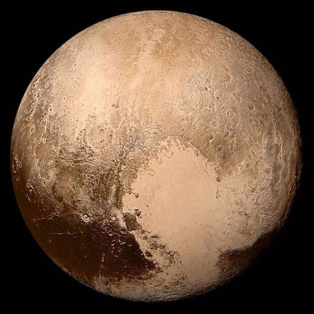 НаПлутоне есть целый океан воды вжидком состоянии