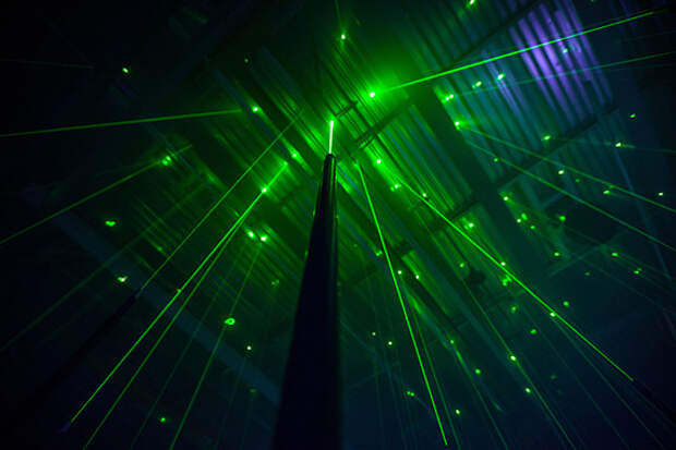 Лазерный лес