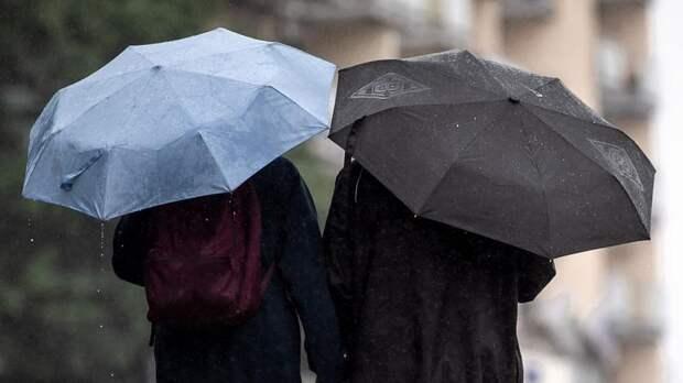 В пятницу в Петербурге ожидаются ливни, грозы и сильный ветер