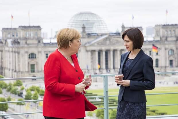 Установлено официально: аппарат Санду – на дотации у Ангелы Меркель