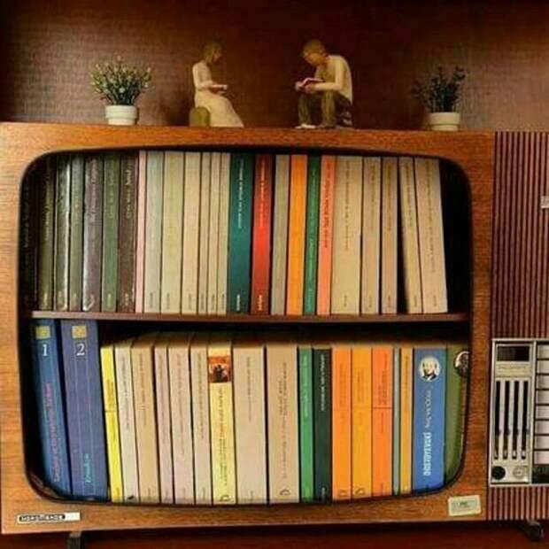 Телевизор  здорового человека