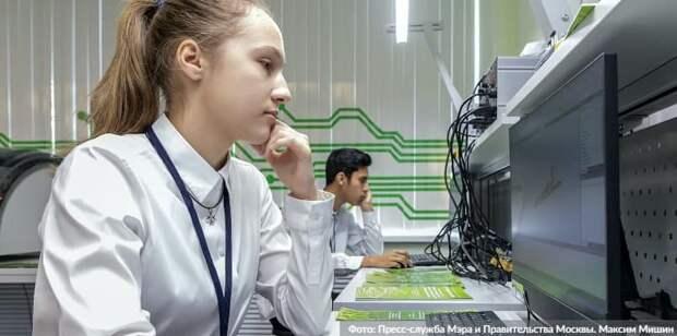 Дистанционное обучение 6-11 классов позволило предотвратить рост заболеваемости в Москве. Фото: М. Мишин mos.ru
