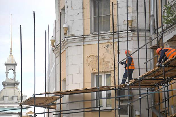 Более сотни домов-памятников отремонтируют в Москве в 2021 году