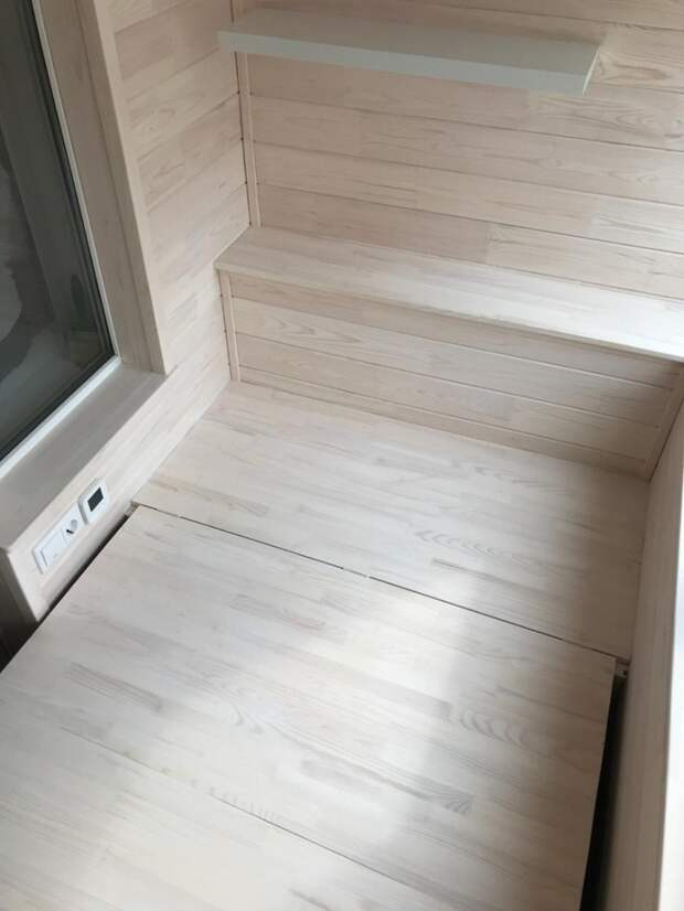 Балкон класса люкс на всю кампанию