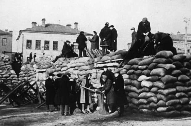 «За русский народ!» Как московская паника 1941 г. прекратилась «сама собой»