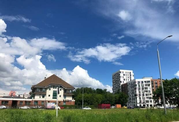 Фотокадр: особенное небо в Северном
