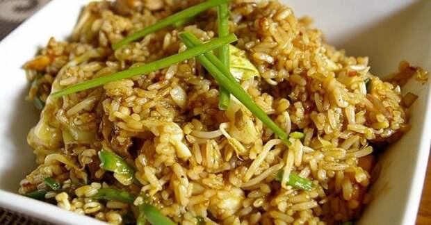 Гарнир из вчерашнего риса