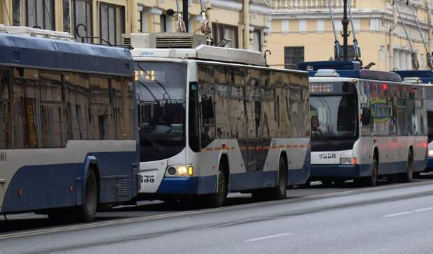 Схему движения троллейбусов №7 хотят поменять вРостове
