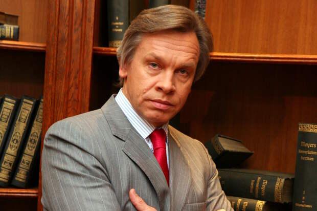 Пушков: Отказ России от предоплаты не изменит враждебного отношения Украины