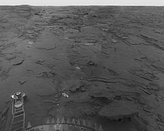 Изображение поверхности планеты «Венера», снимок станции «Венера-13»