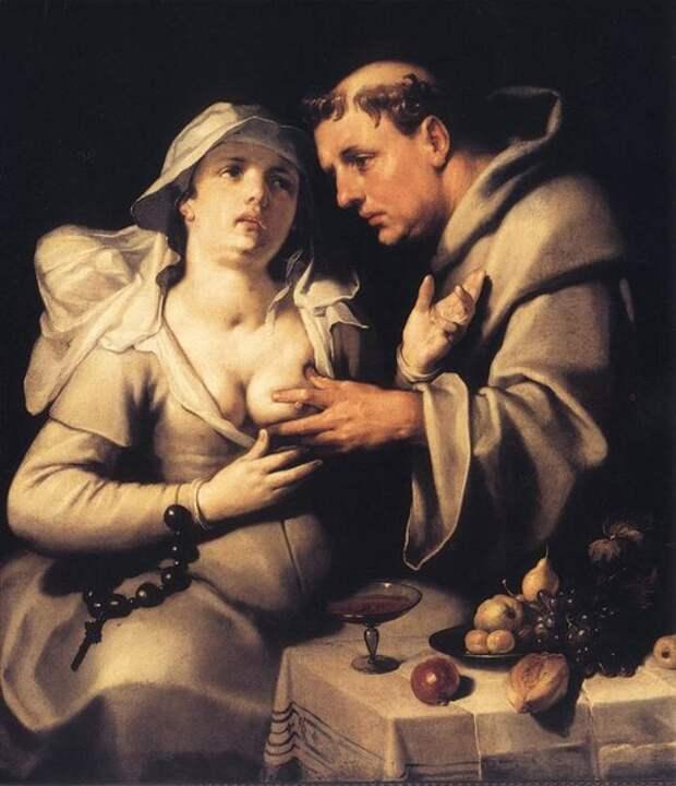 Развратные монашки в искусстве