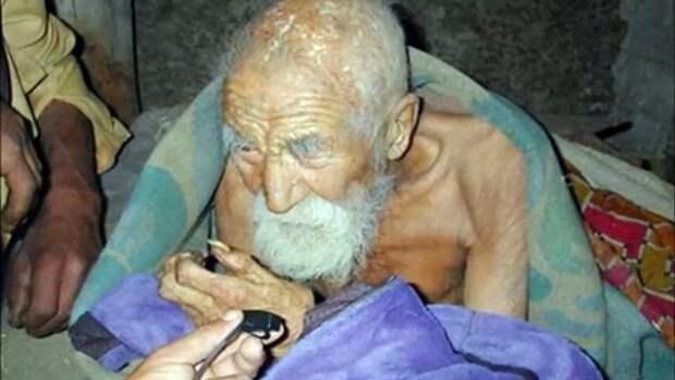 В Индии найден 184-летний дед!