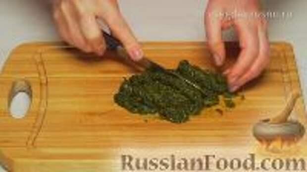 Фото приготовления рецепта: Ботвинья - шаг №9