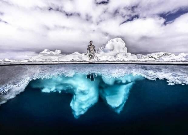11 редких и впечатляющих фото айсберга в Гренландии от фотографа Тобиаса Фридриха